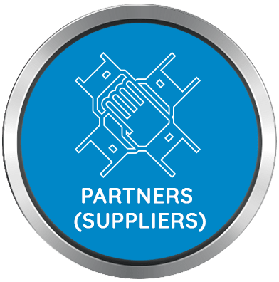 Strength of Asian Sealing Products - Partners & Suppliers